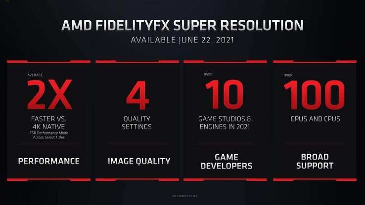 Take your time to buy a new graphics card.  AMD introduced FidelityFX Super Resolution technology, which will significantly increase the frame rate in games on older adapters