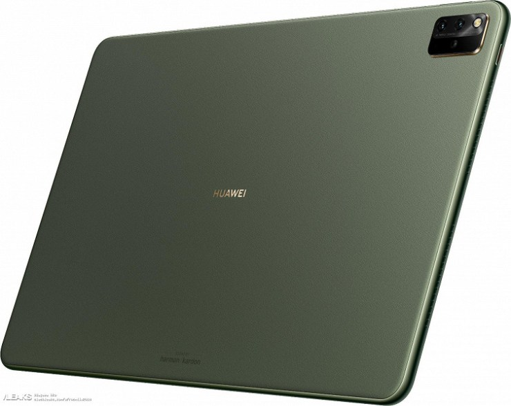 12.6 inches, HarmonyOS and Huawei's first triple camera in a tablet.  Official images of Huawei MatePad Pro 2