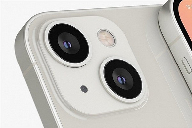 The entire line of smartphones iPhone 13 on high-quality renders