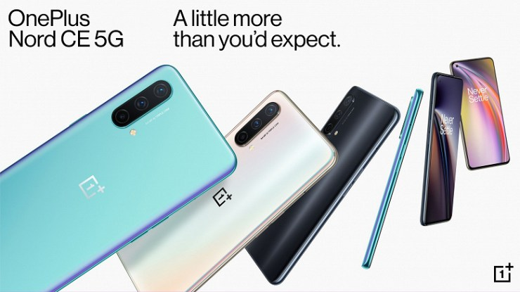 4500 mAh, 90 Hz, 5G, 64 MP, 30 W, NFC and a standard headphone jack for 300 euros.  OnePlus Nord CE 5G smartphone presented