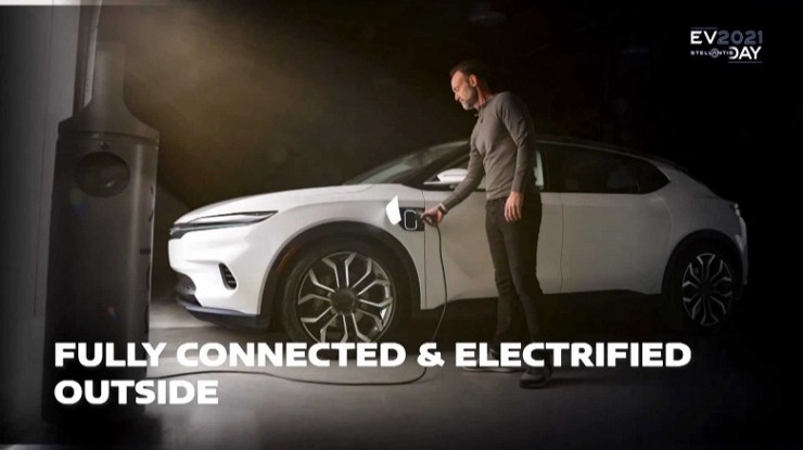 Chrysler electric car with 800 km range and multiple screens unveiled