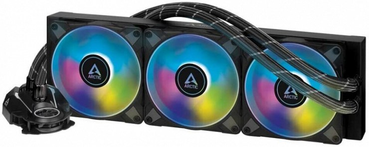 The Arctic Liquid Freezer II 360 is available in two flavors