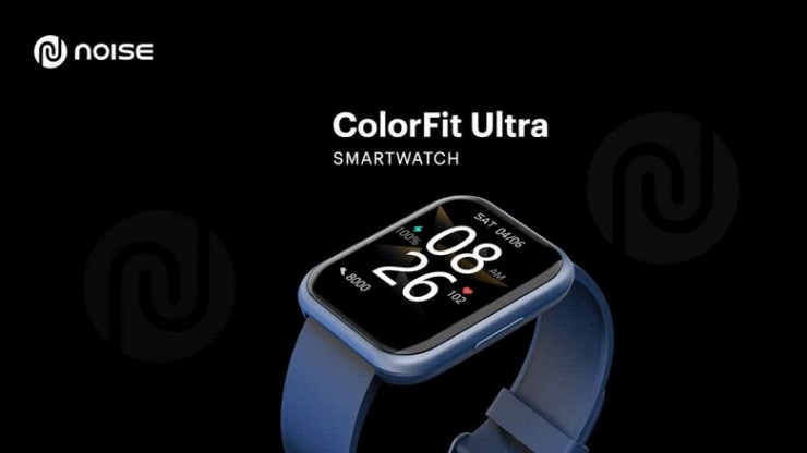 1.75 inches, SpO2, IP68, 90 sport modes, inexpensive.  Noise Colorfit Ultra smartwatch introduced