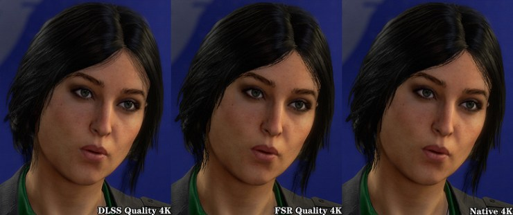 AMD FSR vs. Nvidia DLSS.  The first comparisons appeared within the same game