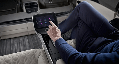 Kia luxury car unveiled with foot massager, air purifier and more
