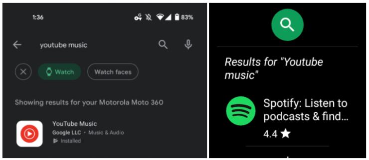 Google almost launched YouTube Music for Wear OS smartwatches