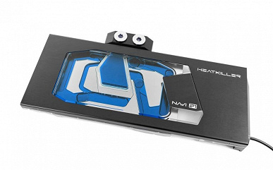 Watercool Heatkiller V waterblock is designed for AMD Radeon RX 6800, 6800 XT and 6900 XT graphics cards
