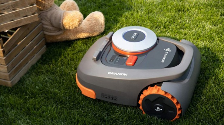 Segway-Ninebot smart lawn mower introduced