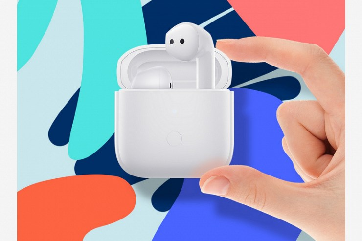 Xiaomi copied Apple AirPods: cheap headphones Redmi Buds 3 with noise canceling, IP54, touch control and aptX presented