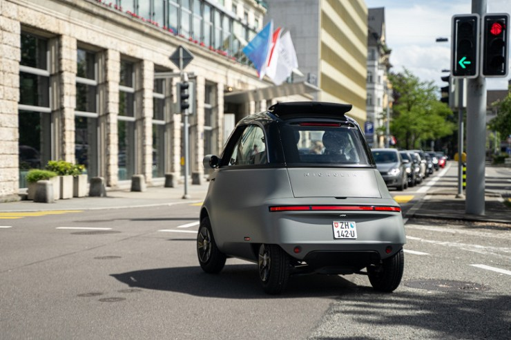 Microlino's tiny electric car sparks a lot of interest