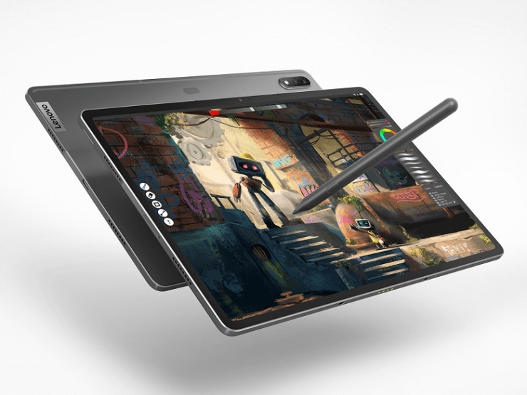 10,200 mAh, 12.6-inch OLED screen, Snapdragon 870, dual camera, four JBL speakers and 45 watts.  Presented top-end tablet Lenovo Tab P12 Pro