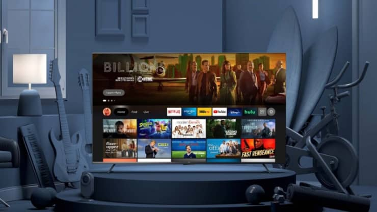 From $ 370 for 43 inches to $ 1,100 for 75 inches. Amazon unveils its first TVs