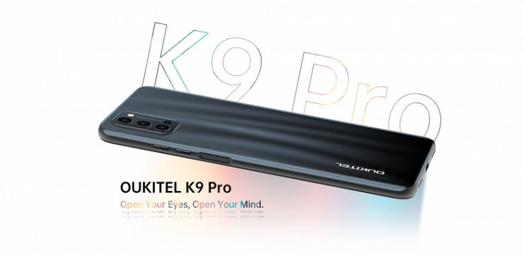 7-inch smartphone with 5000 mAh battery and NFC.  Oukitel K9 Pro presented