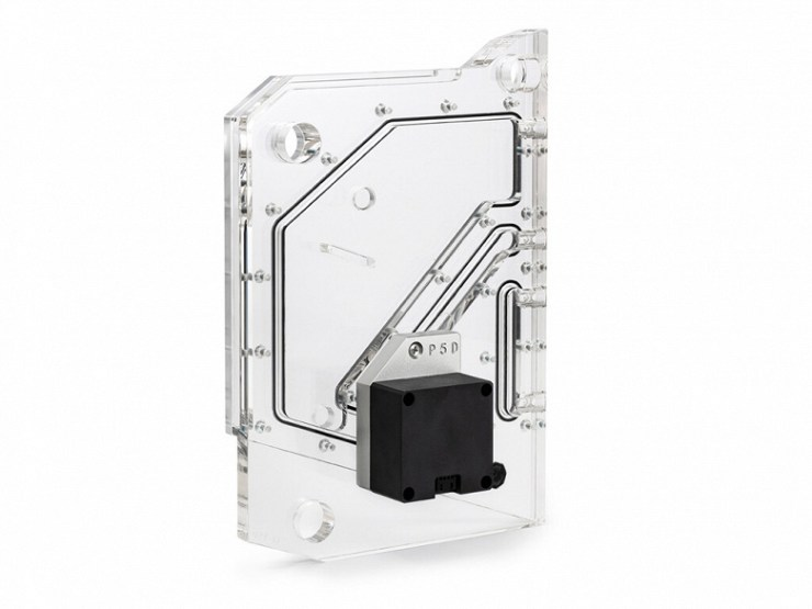 The unit from the reservoir and pump Bitspower TouchAqua Sedna Torque is designed for the Antec Torque case