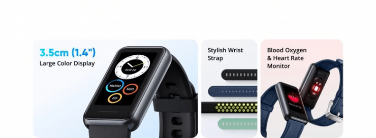 Affordable Realme Band 2 with Heart Rate Tracking, SpO2, Water Resistant and 90 Sport Modes Introduced