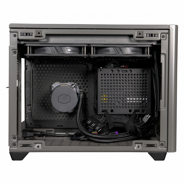 Cooler Master NR200P Max case is designed for a mini-ITX board and is equipped with an LSS