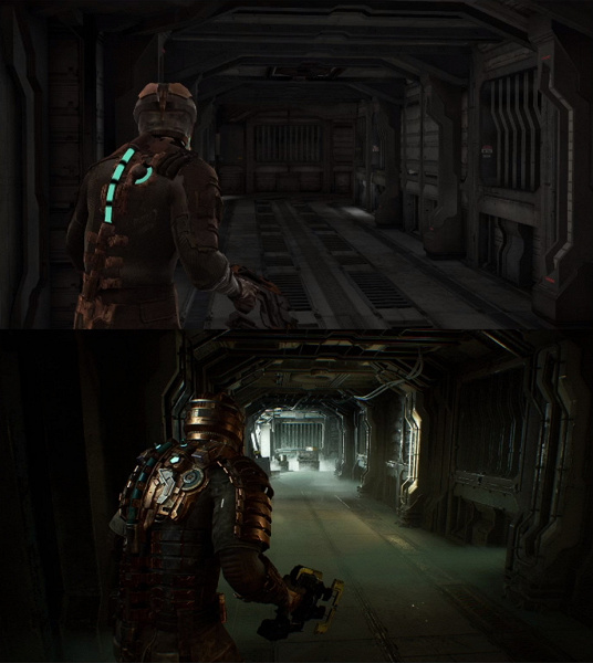 It looks like a remake of Dead Space: the first demo