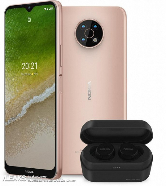 The cheapest Nokia smartphone with 5G.  Quality images of the Nokia G50 from every angle