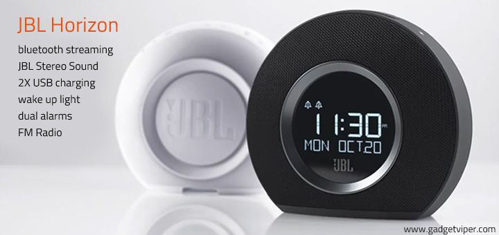 JBL Horizon  Alarm Clock and Ambient Wake Up light review