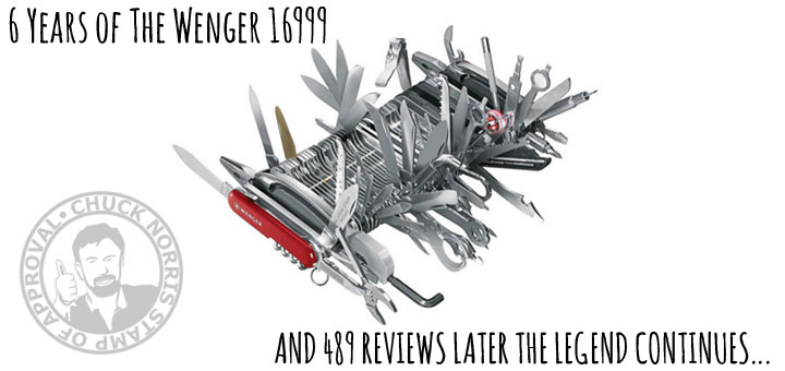 The Wenger 16999 knife that turned Amazon into Reddit