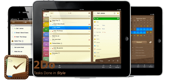 2Do - Best To-Do app for iPhone