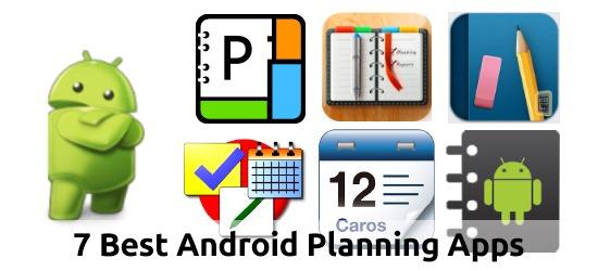 7  Las mejores aplicaciones de planificación de Android