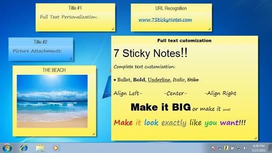 7 Sticky Notes Virtual Sticky Notes For Desktop