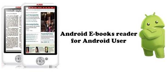 Android E-books reader