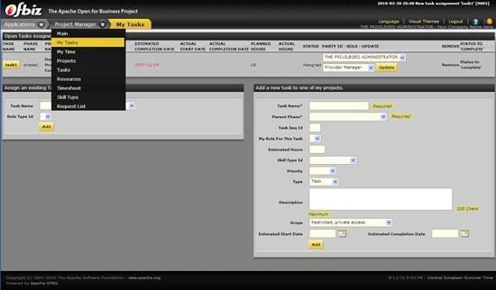 Apache OFBiz - open source enterprise automation system