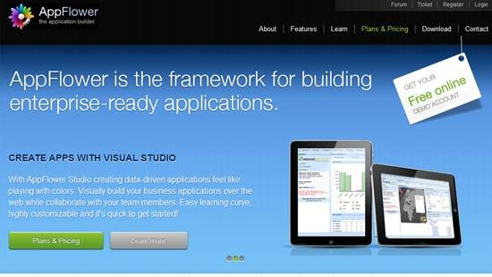 AppFlower - Rapid web application development framework