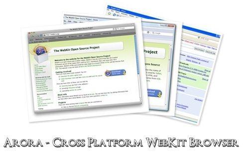 Arora WebKit Browser
