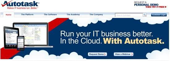Autotask IT Business Management Software