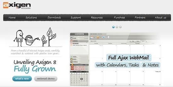 Axigen Linux mail server and calendaring platform