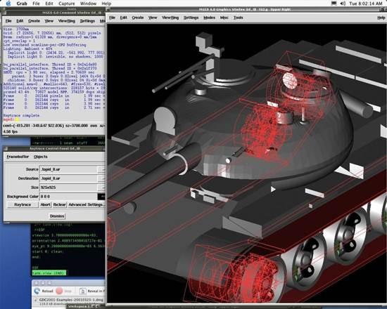 BRL-CAD - open source CAD system