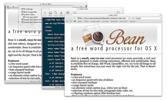 Bean word processor free and open source word processor - Best Of