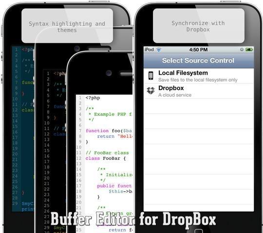 Buffer Editor for dropbox