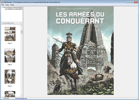 CBR Reader - Comic Book Reader for Windows 8