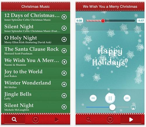 Christmas-Music-App