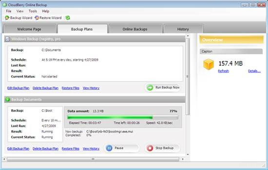 CloudBerry S3 Backup tool