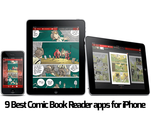 9 Best Comic Book Reader apps for iPhone