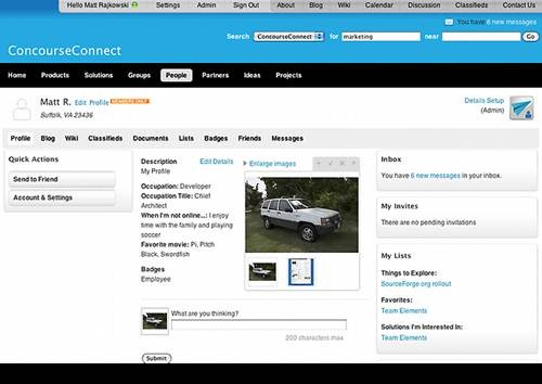 ConcourceConnect 17 open source wiki engine/software