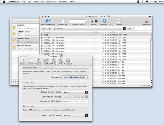 Cyberduck - free Macintosh FTP Client