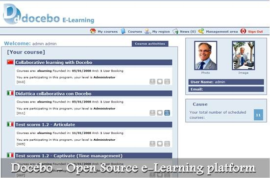 Docebo lms - Open Source e-Learning platform