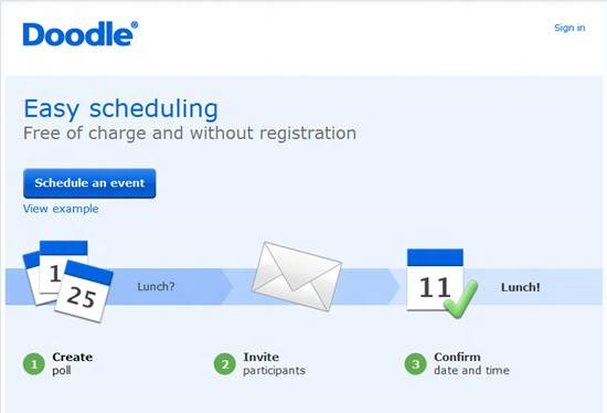 Doodle scheduling Top 16 online appointment scheduling software