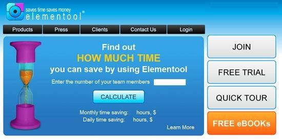 Elementool project management