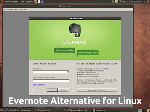 Evernote Alternative for Linux
