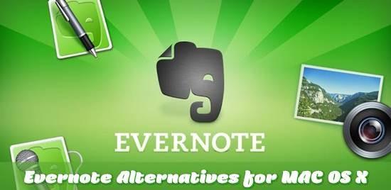 Evernote Alternatives for MAC OS X