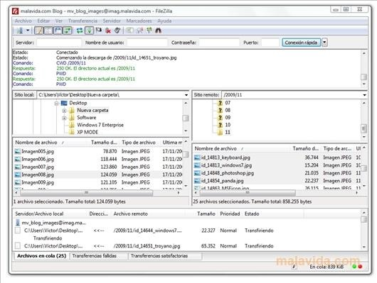 FileZilla FTP Clients and File manager : 15 useful FTP client, file manager and File sharing tool