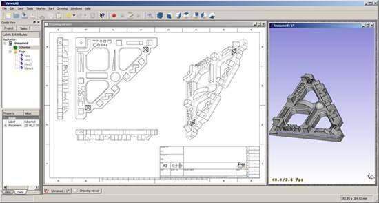 Freecad - open source 3D CAD modeler