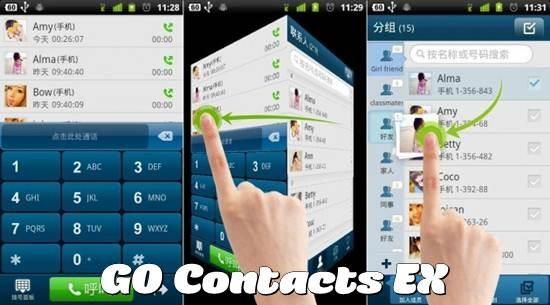 GO Contacts EX